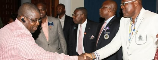 Sir Emeka Offor Hosts Rotarians
